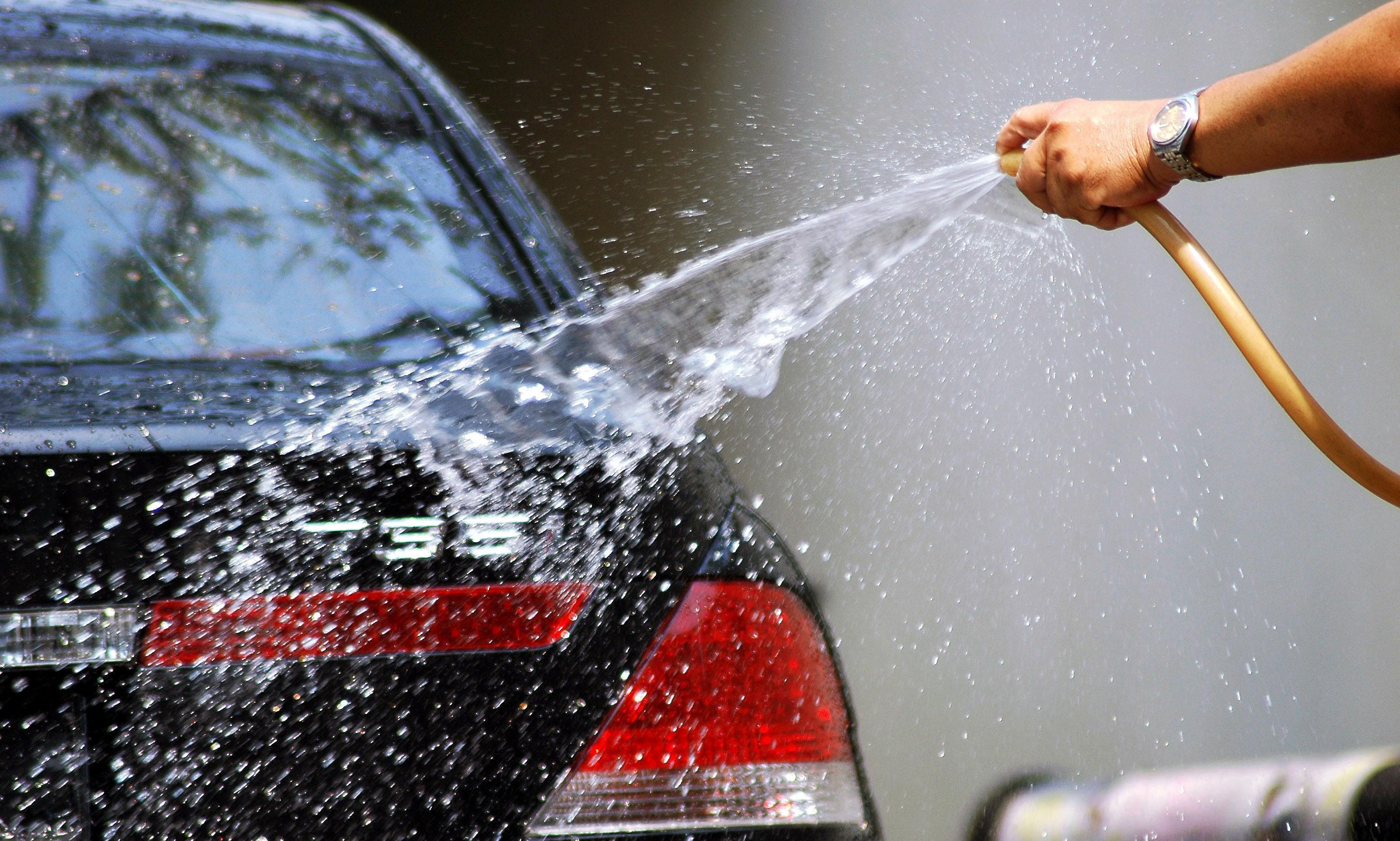 Повторное использование технической воды для мытья машины